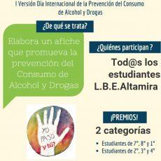 CONCURSO LBEA  «Yo me cuido, NO Consumo»