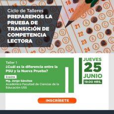 TALLER NUEVA PRUEBA DE TRANSICIÓN COMPETENCIA LECTORA PARA ESTUDIANTES DE 4 MEDIOS