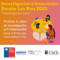 """¡Profe, se inicia el programa de Investigación e Innovación Escolar """"Investiga en Casa 2020""""!"""